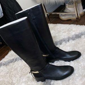 New Antonio Melani black boots // Knee high black